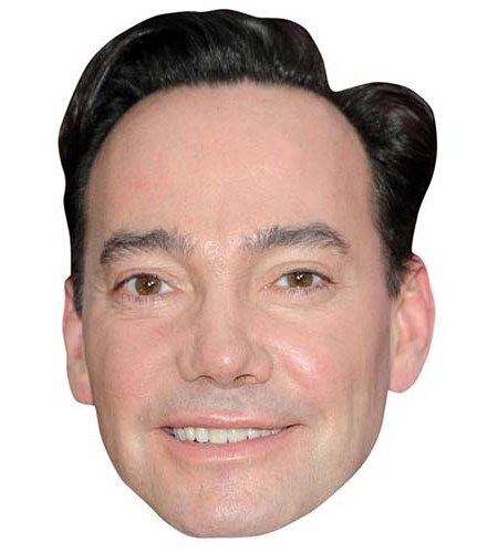 A Cardboard Celebrity Big Head of Craig Revel Horwood
