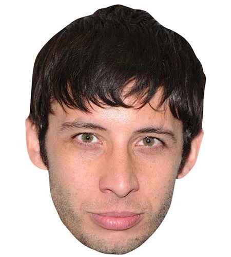 A Cardboard Celebrity Big Head of Example