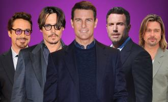 Celebrity Film stars cardboard cutouts