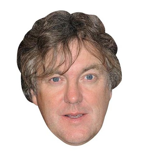 A Cardboard Celebrity Big Head of James May