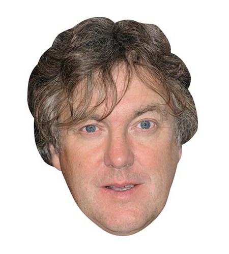 A Cardboard Celebrity Big Head of James May