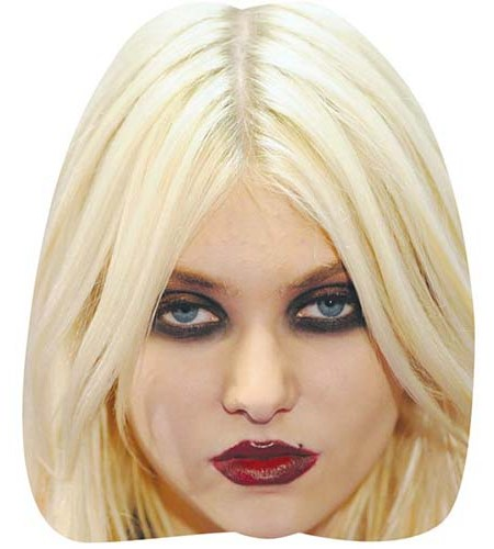 A Cardboard Celebrity Big Head of Taylor Momsen