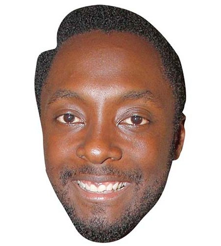 A Cardboard Celebrity Big Head of Will I Am