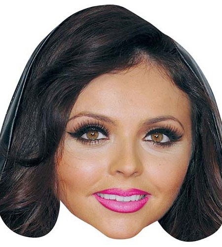 A Cardboard Celebrity Big Head of Jesy Nelson