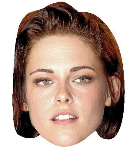 A Cardboard Celebrity Big Head of Kristen Stewart