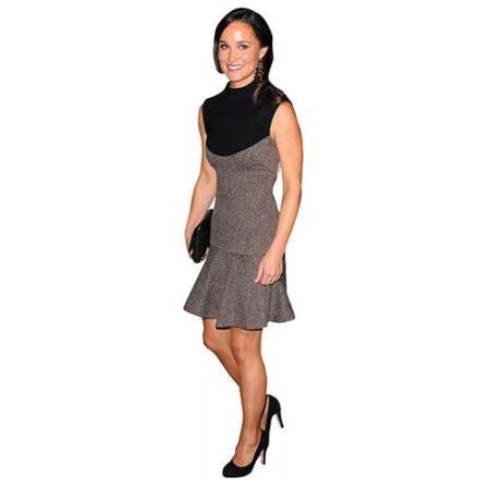 A Lifesize Cardboard Cutout of Pippa Middleton wearing a short dress