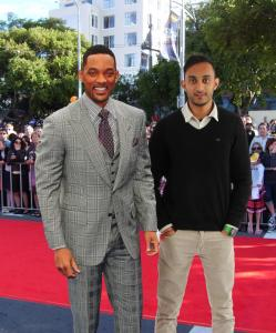 will smith red carpet