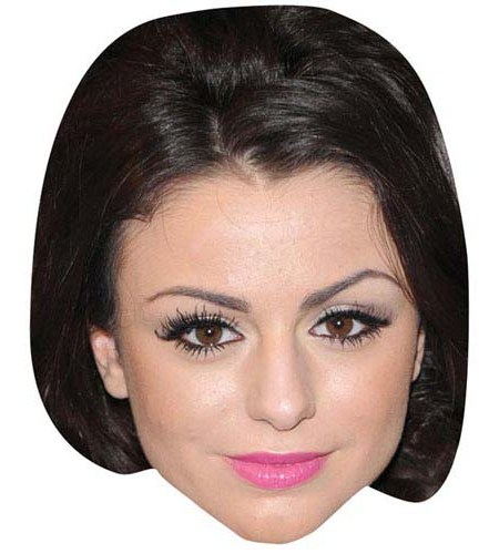A Cardboard Celebrity Big Head of Cher Lloyd