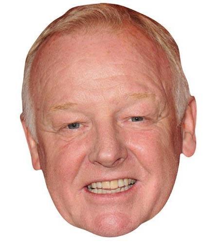 A Cardboard Celebrity Big Head of Les Dennis