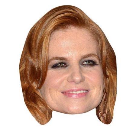 A Cardboard Celebrity Big Head of Patsy Palmer