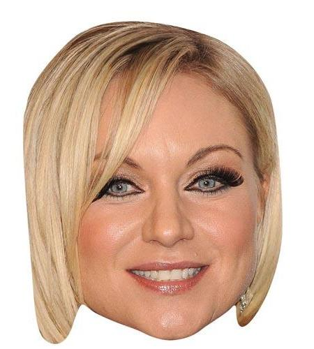 A Cardboard Celebrity Big Heads of Rita Simons