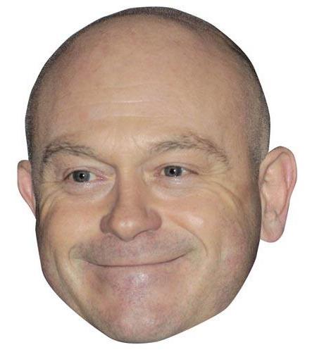 A Cardboard Celebrity Big Heads of Ross Kemp