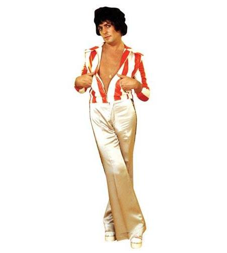 A Lifesize Cardboard Cutout of Marc Bolan wearing flares