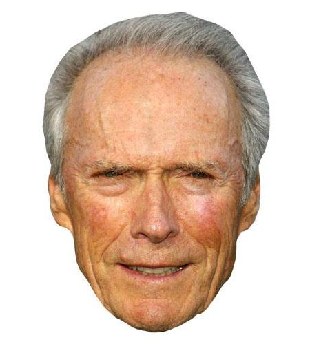 Clint Eastwood Celebrity Big Head