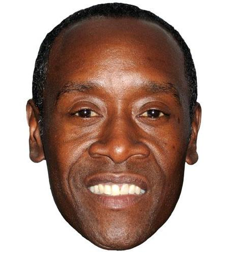 A Cardboard Celebrity Big Head of Don Cheadle