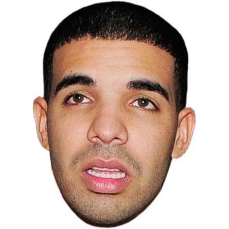 A Cardboard Celebrity Big Head of Drake