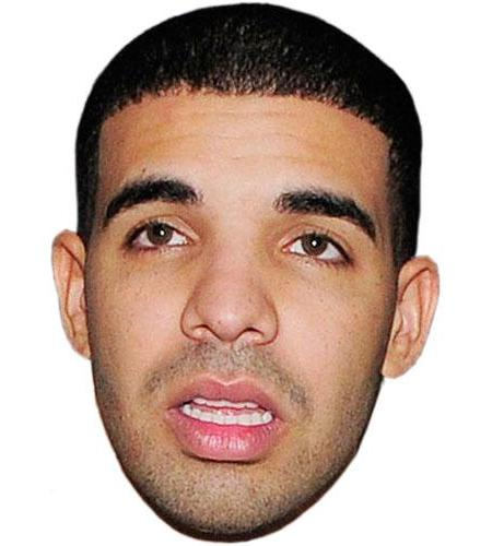 A Cardboard Celebrity Big Head of Drake