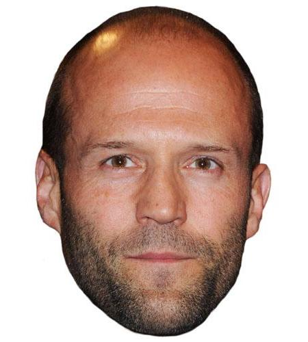 A Cardboard Celebrity Big Head of Jason Statham