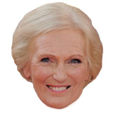 A Cardboard Celebrity Mary Berry Big Head-celebrity-Big Head