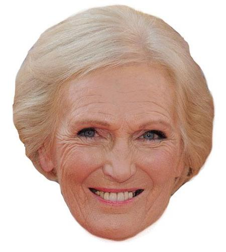 A Cardboard Celebrity Mary Berry Big Head-celebrity-Big Head