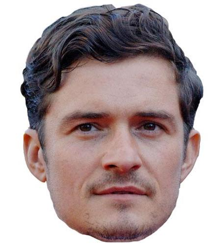 A Cardboard Celebrity Orlando Bloom Big Head