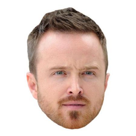 A Cardboard Celebrity Aaron Paul Big Head