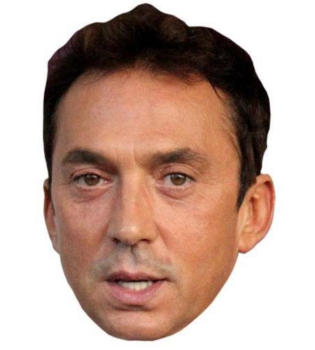A Cardboard Celebrity Big Head of Bruno Tonioli