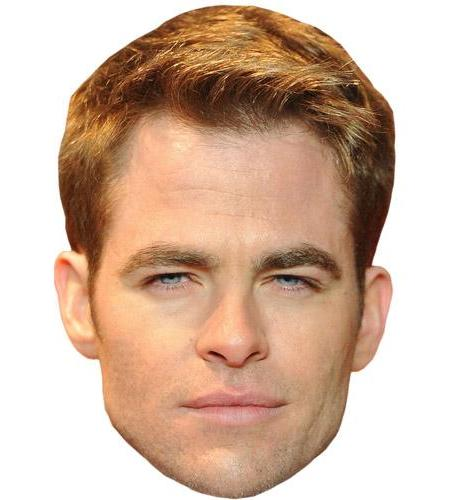Chris Pine Celebrity Big Head