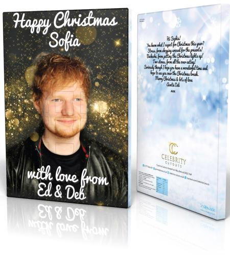 Advent Calendar Ed Sheeran Stars Blue