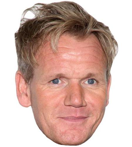 Gordon Ramsay Celebrity Big Head