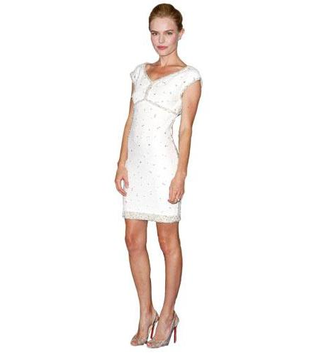 A Lifesize Cardboard Cutout of Kate Bosworth wearing white