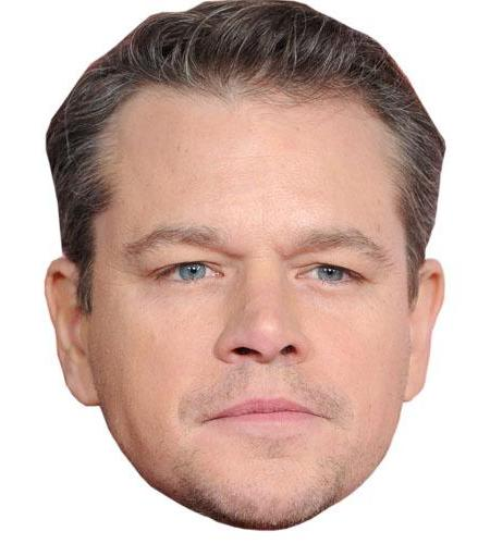Matt Damon Celebrity Big Head