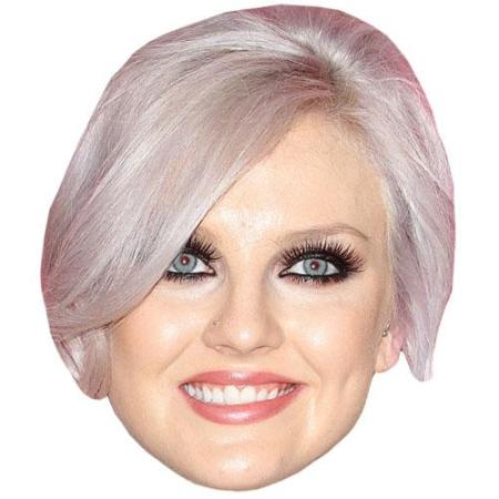 A Cardboard Celebrity Big Head of Leigh-Perrie Edwards