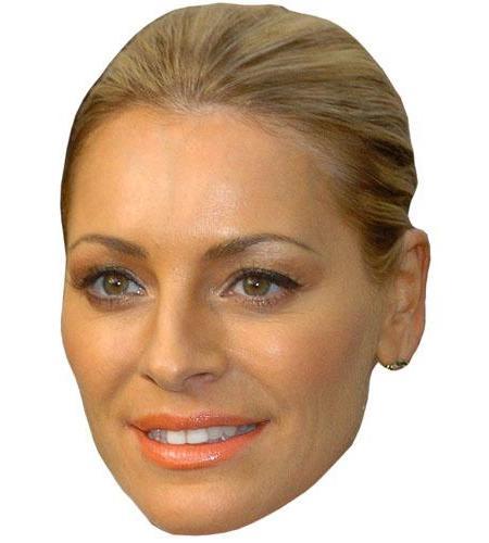 A Cardboard Celebrity Tess Daly Big Head