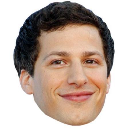 A Cardboard Celebrity Big Head of Andy Samberg