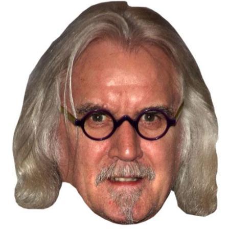 A Cardboard Celebrity Big Head of Billy Connolly