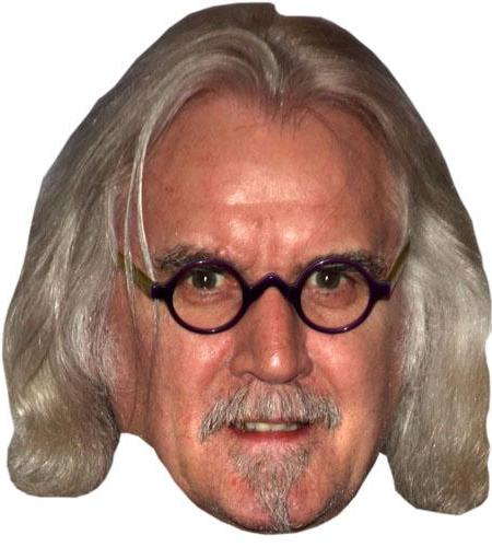 A Cardboard Celebrity Big Head of Billy Connolly