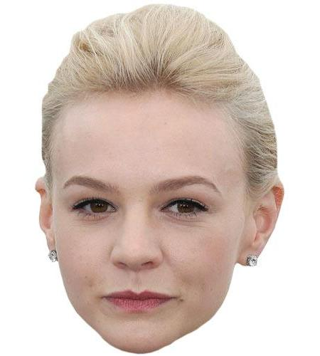 A Cardboard Celebrity Big Head of Carey Mulligan
