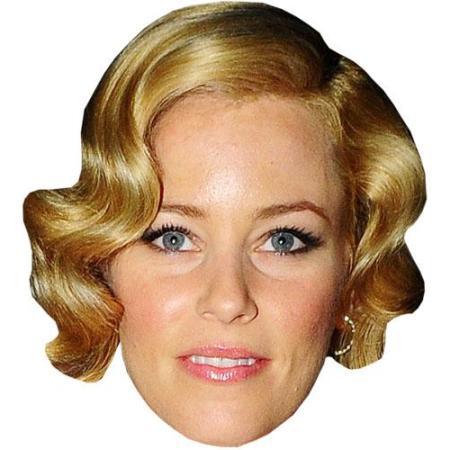 A Cardboard Celebrity Big Head of Elizabeth Banks