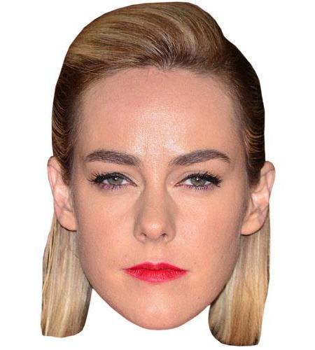 A Cardboard Celebrity Big Head of Jena Malone