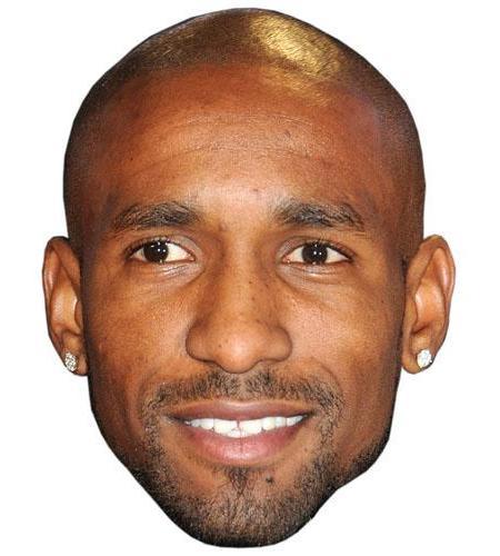 A Cardboard Celebrity Jermain Defoe Big Head
