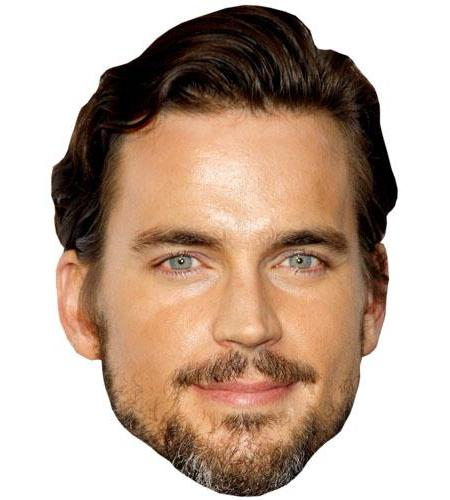 A Cardboard Celebrity Big Head of Matt Bomer