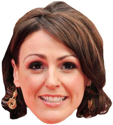 A Cardboard Celebrity Suranne Jones Big Head