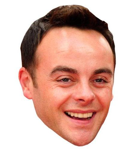 A Cardboard Celebrity Ant McPartlin Big Head