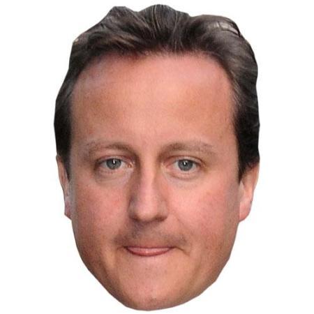 A Cardboard Celebrity David Cameron Big Head