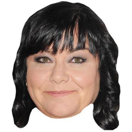 A Cardboard Celebrity Dawn French Big Head