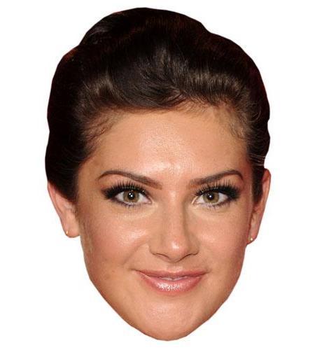 A Cardboard Celebrity Mask of Isabel Hodgins