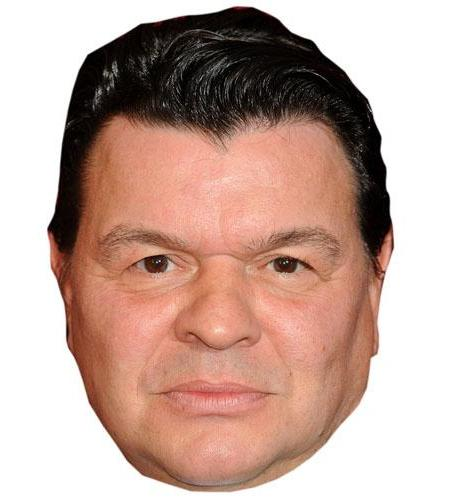 A Cardboard Celebrity Big Head of Jamie Foreman