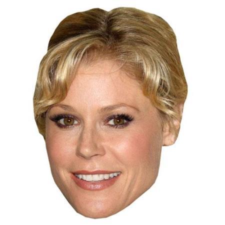 A Cardboard Celebrity Big Head of Julie Bowen