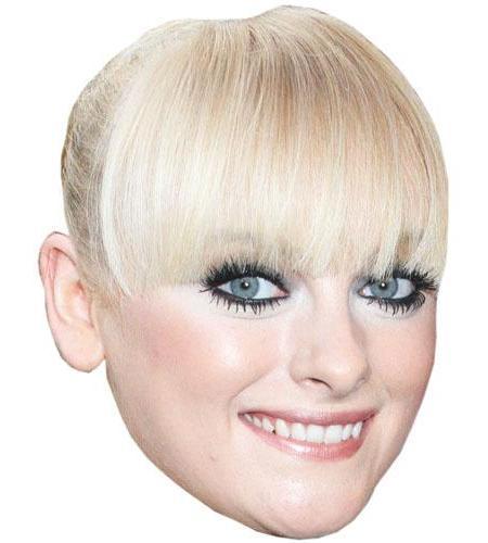 Katie McGlynn Cardboard Mask